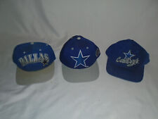 5c68ff7a965 Vintage Dallas Cowboys Snapback Hats lot of THREE