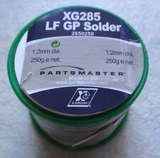 Lead Free Solder Wire (XG285 LF GP) 250 Grams1.2 mm Top Quality By *Partsmaster*