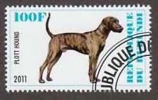 Plott Hound * Int'l Dog Postage Stamp Collection *Great Coonhound Gift Idea*