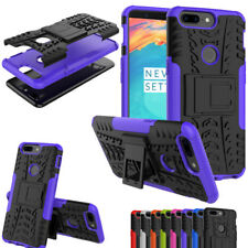 Hybrid Rugged Heavy Duty Armor Rubber Shockproof Case Cover For OnePlus 5T 3/3T