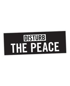 Disturb The Peace Sticker ! James Baldwin inspired, Giovanni's Room, justice