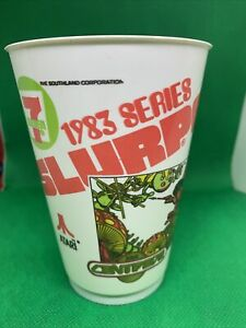 Vintage 7-11 Slurpee Cup 1983 Video Game Series Retro Old School Atari Centepede