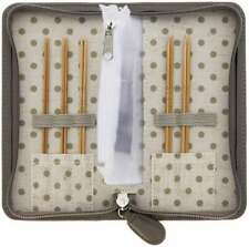 Tulip Carry C Interchangeable Bamboo Knitting Needle Set Long Fin 846550017415