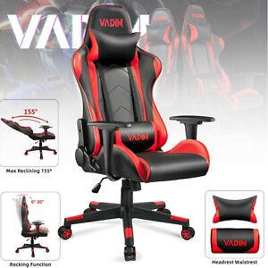 Vadim Gaming Stuhl Schreibtischstuhl Gamer Ergonomischer Bürostuhl Einstellbare