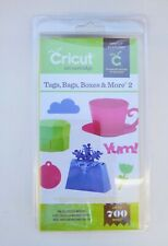 Cicut Tags Bags Boxes & More 2 Cartridge -  Brand New, Sealed