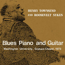 HENRY TOWNSEND AND ROOSEVELT SYKES ~ Blues Piano & Guitar ~ 2019 US 2xCD Set