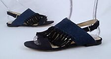 NEW!! Phillip Lim Martini Fringe Sandal- Blue- Size 9 US/ 39 EU  (P19)