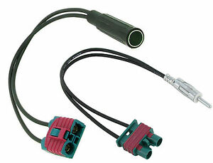 Volvo aerial adapters connectors C30 C70 S40 V50 FM modulator CT27AA35 CT27AA58