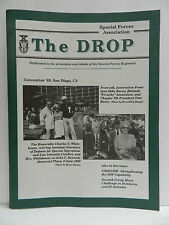 """""""GREEN BERET"""" THE DROP MAGAZINE, AUTUMN 1989 ISSUE, SPECIAL FORCES ASSOCIATION"""