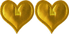 Shwings Gold Heart clip on for your shoes official designer Shwings New 13104