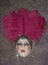 CLAY ART CERAMIC MASK..VEGAS.. EXTREMELY RARE!