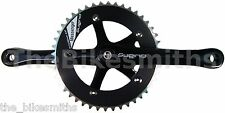 Sugino Messenger BLACK 170mm Track Fixed Gear Crank Set Classic Made in Japan