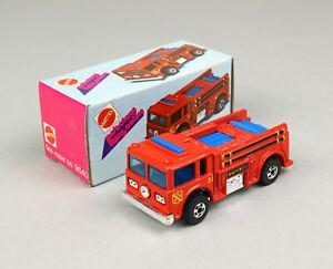 HOT WHEELS Mattel Mebetoys Flying Colors 9640 Fire Eater OVP Blackwall MIB