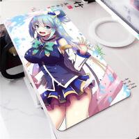 Anime KonoSuba Mouse Pad Darkness Mousepad Keyboard Gaming Play Mat Playmat BS53