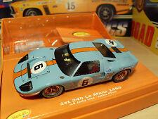 """Slot it CW09-Ford GT40 'Le Mans 1969-coche ganador"""" - Nuevo En Caja"""
