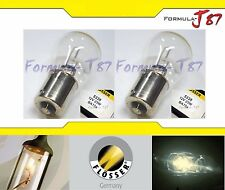 FLOSSER BA15s 5338 12V 25W TWO BULB HEAD LIGHT PLUG PLAY HALOGEN REPLACEMENT FIT