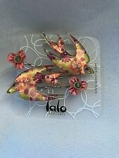 ORNA LALO Treasures Hair Pins Wedding Birds Fish Flowers NEW on Card Unique