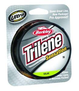 Berkley Trilene Sensation Pro Grade Mono Line 6 lbs 330 yd Solar SNFSN6-81