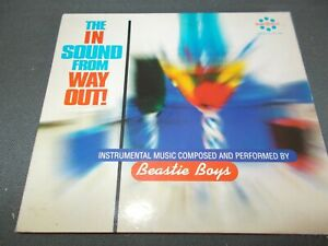 BEASTIE BOYS - THE IN SOUND FROM WAY OUT - OZ 13 TRK CD - VERY CLEAN - HIP-HOP