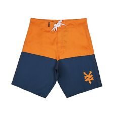 Zoo York Men's - Dyer - Board Shorts - Orange/Navy