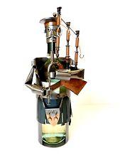 Indoor Steel Sculpture Scotchman Wine Bottle Holder Ideal Gift