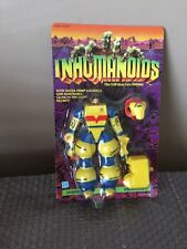 Vintage 1986 Hasbro Inhumanoids Earth Corps LIQUIDATOR Action Figure Unpunched !