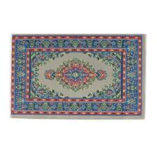 Dollhouse Accessories Toys 1/12 Scale Turkish Woven Carpet Blanket Carpet P2J9
