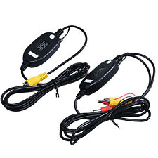 Wireless Transmitter Receiver Color For Car Reverse Rear View Camera Monitor NEW