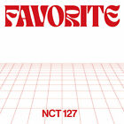 NCT 127 - Favorite [2 ver. SET] 2Album+2Posters+Free Gift / EXPRESS SHIPPING