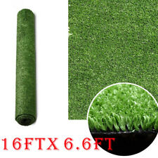 16x6.6 ft Artificial Grass Mat Synthetic Landscape Fake Lawn Pet Dog Turf Garden