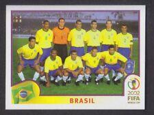 Panini Corea Japón 2002 Copa del Mundo - # 169 Brasil Team Group