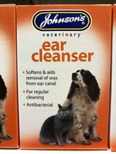 Johnsons Ear Cleanser for Dogs & Cats Kills Ear Mites Wax   *SAMEDAY DISPATCH*