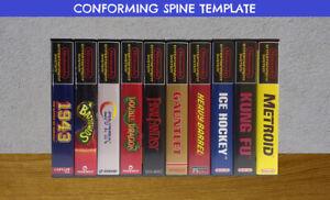 Nintendo NES Custom Hard Game Cases FREE shipping