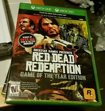 RED DEAD REDEMPTION GAME OF THE YEAR XBOX 360 AND XBOX ONE FACTORY SEALED NEW