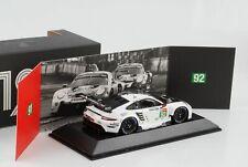 Porsche 911 RSR 24H Le Mans 2020 #92 schwarz weiss 1:43 Spark  Dealer WAP