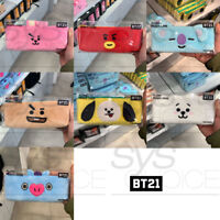 BTS BT21 Official Authentic Goods Plush Pencil Case by LINE FRIENDS 7Characters