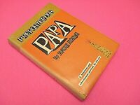 Signed Preposterous Papa by Lewis Meyer 1959 1st/1st Harcover DJ World Publisher