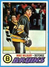 1977-78 Topps MIKE MILBURY (ex) Boston Bruins