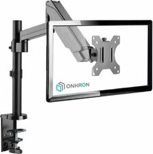 ONKRON Monitor Desk Mount Stand for 13 to 34-Inch LCD LED Screens up to 17.6 lb