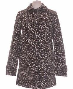 Manteau Femme Monoprix Taille 36 - T1 - S Noir Femme