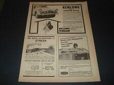 SUNBEAM RAPIER MK 1 SALOON KENLOWE   ADVERT THE MOTOR 19 MARCH 1966