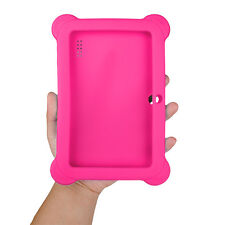 "Shockproof Rubber Soft Silicone Case Cover For Android 7"" Tablet candy color"