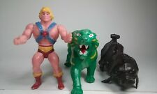 MOTU KO HE-MAN & BATTLE CAT  1980s MEXICAN BOOTLEG