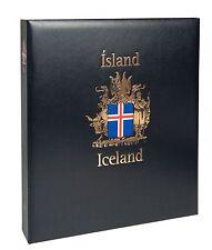 DAVO LUXE ALBUM ICELAND I 1873-1989 NEW!!