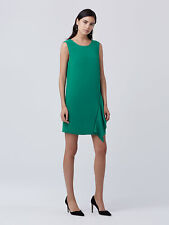 DVF Diane von Furstenberg Wylda Dress Sea Green Size 12 UK (8 US)
