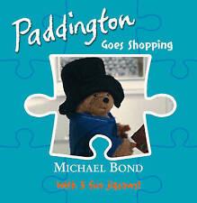 Paddington - Goes Shopping (Jigsaw Book), Michael Bond, New Book