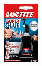 12 LOCTITE Super Glue Power Flex Gel Control Liquid Flexible Adhesive 3g BOTTLE