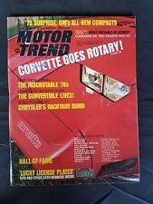 Motor Trend Feb 1975 Chevy Monza - Honda Civic - Buick Skyhawk  Pontiac Starfire