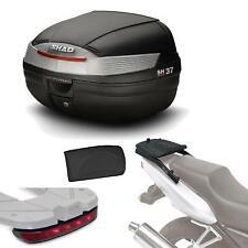 Kit fijacion + maleta baul trasero + luz de freno + respaldo regalo SH37 compat