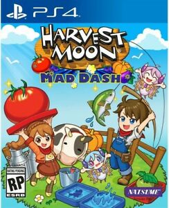 Harvest Moon: Mad Dash for PlayStation 4 [New Video Game] PS 4